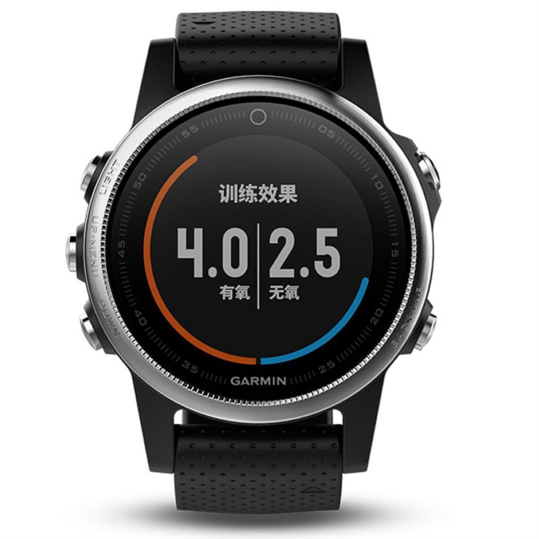Get Zycbeautiful for garmin fenix 5s Heart rate monitoring GPS marathon Smart Watch In English