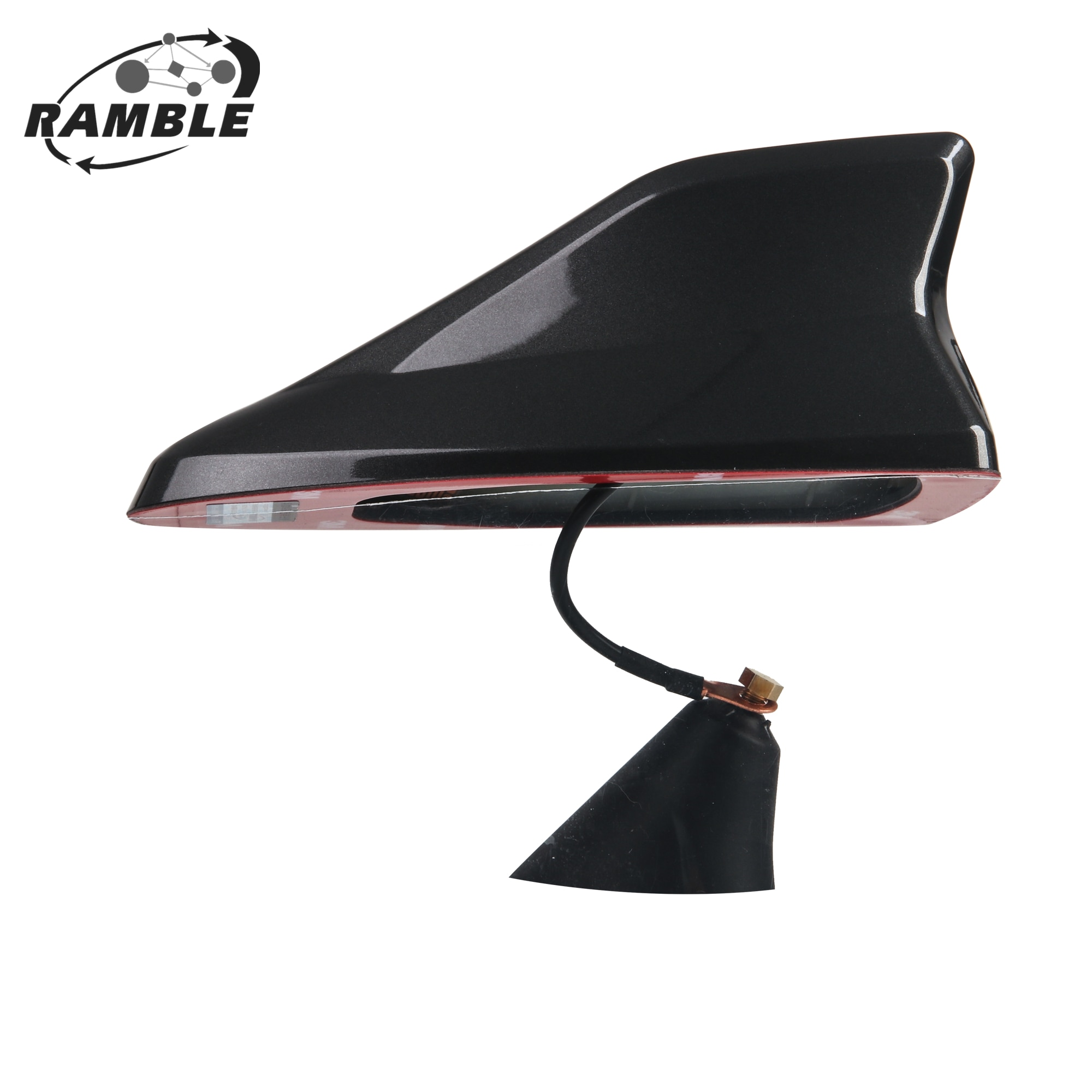Ramble Factory For Peugeot 2008 Car Signal Aerials FM AM Radio Shark fin antenna Accessories Univers
