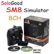 SoloGood 2019 nouveau simulateur SM8 8CH 1S commutateur Double retour Support Phoenix 5.5M G7.5