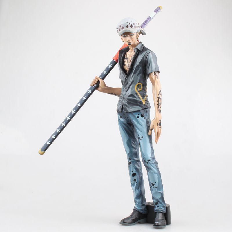 29.5 cm One piece Trafalgar Law Anime boneca Figura PVC Coleção Modelo Toy Action figure para amigos presente
