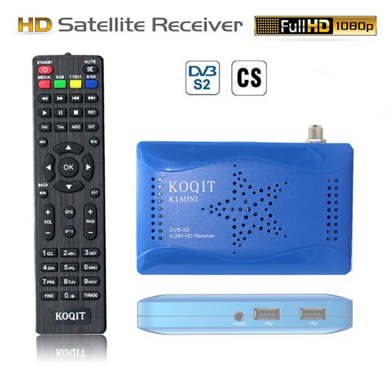 Brasil Portugal Receptor DVB-S2 T2-MI Mpeg4 Receptor de satélite Digital TV sintonizador DVB S2 Wifi CS Cline Biss Vu Youtube PVR USB