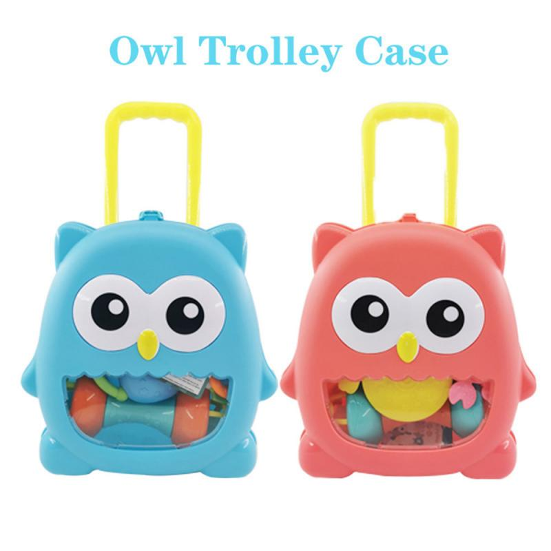 8pcs Silicone Teether Rodent Cartoon Animals Food Grade Silicone Pandents DIY Teething Toys For Teeth Tiny Rod Baby Teethers