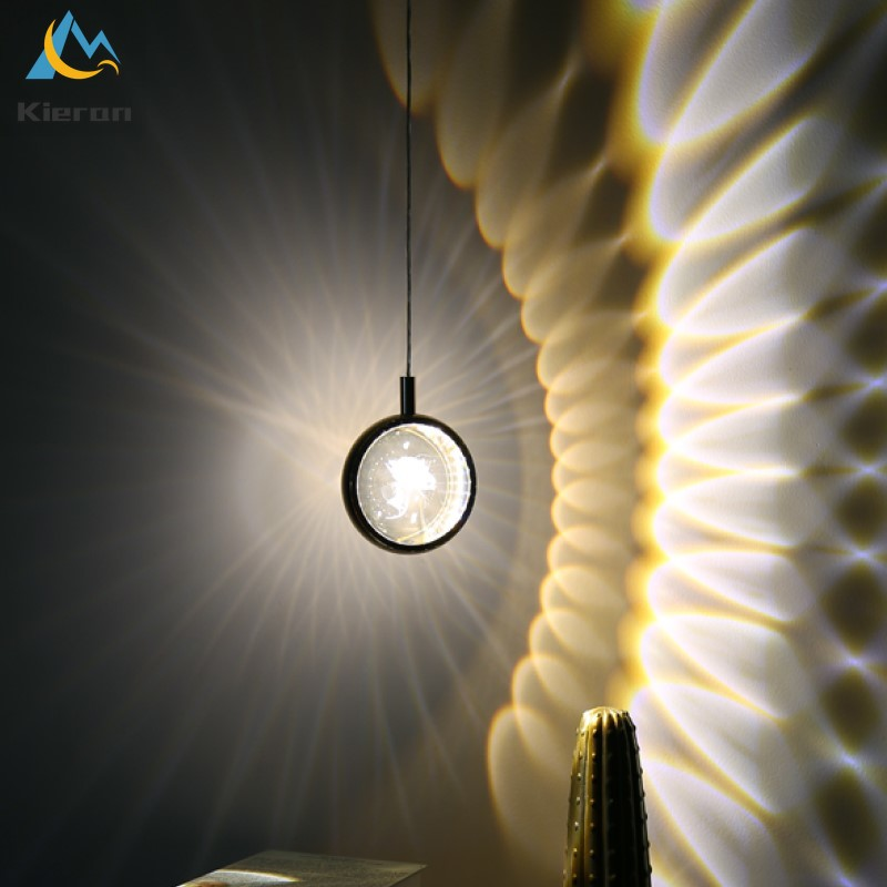 الشمال الحديثة بسيطة كريستال الكرة led الثريا مطعم بار غرفة نوم السرير قلادة أضواء ديكور غرفة ارتفع الأيائل مصابيح متدلية