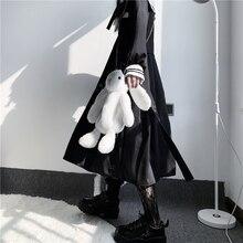 Giapponese di Cosplay del Anime Borsa Jk Lolita Cute Bunny Coniglio Bambola Della Peluche Del Sacchetto Coreano Dolce Ragazza di Stile Gotico Studente Zaino Pacchetto