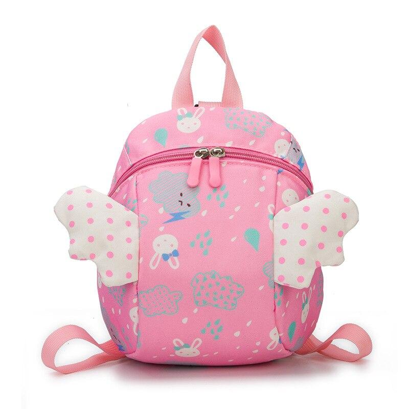 Детский рюкзак с мультипликационным рисунком в детском саду, милый детский рюкзак с крыльями, маленький детский рюкзак для девочек, рюкзак ...