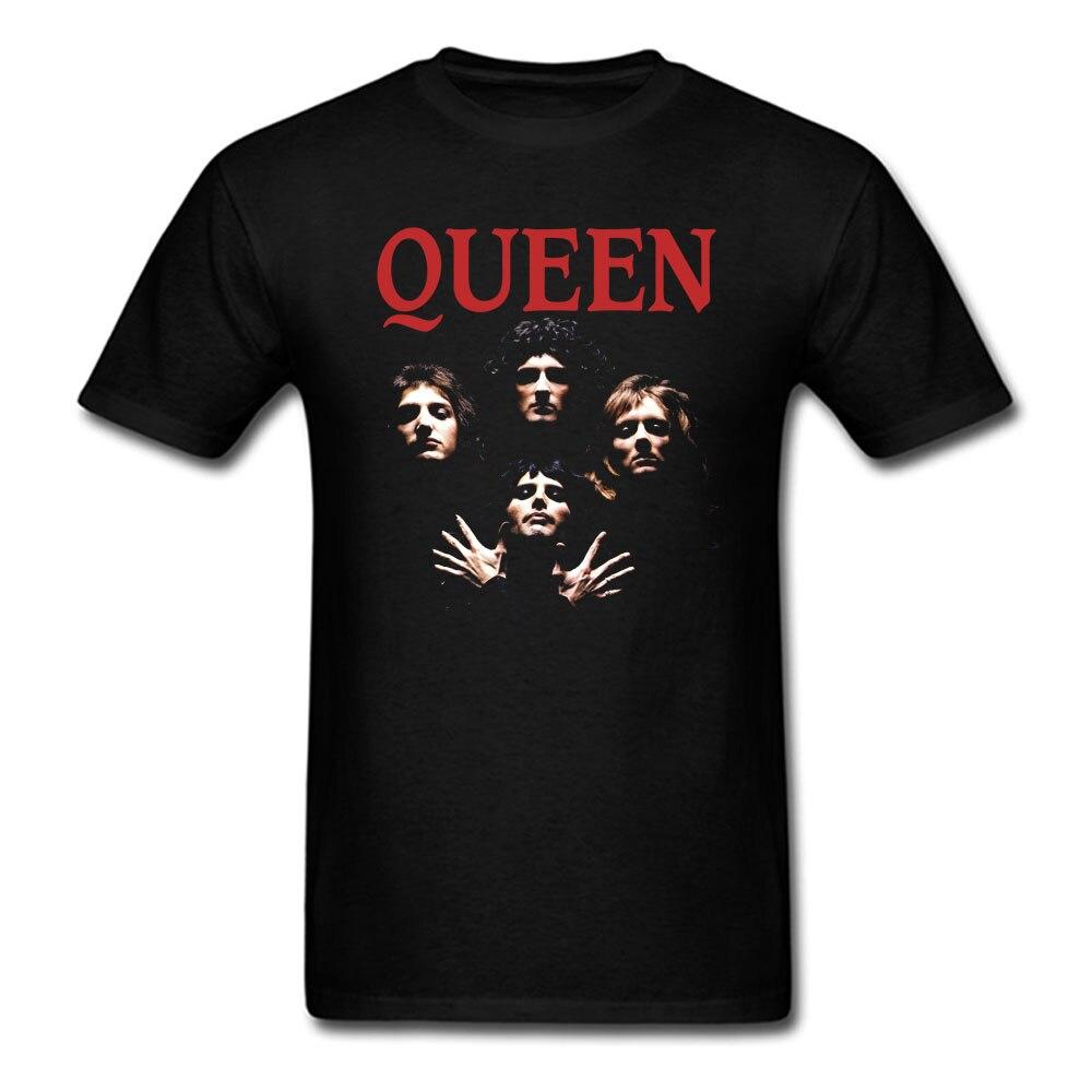 Camiseta Queen Bohemian Rhapsody para hombre y mujer, Camisa estampada de algodón, talla grande S-Xxxl