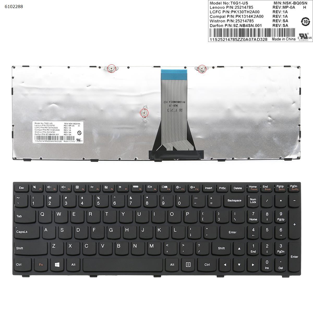 Фото - US QWERTY New Replacement Keyboard for Lenovo B50-30 B50-80 B50-45 B50-70 M50-70 M50-80 Laptop Black refrigerator biryusa m50
