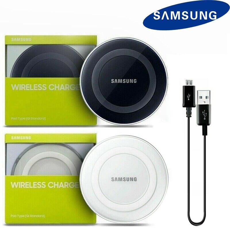 Cargador inalámbrico Qi Samsung 10W, soporte de carga Qi inteligente para Galaxy S6, S7, S8, S9 Plus, Note 7, 8, 9 + para iphone 8 plus, X, XS, mi 10