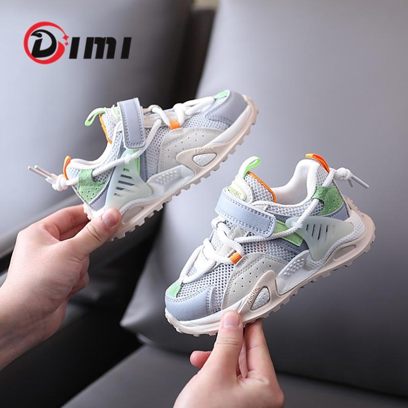 ديمي-أحذية رياضية للأطفال لربيع 2021 ، للأولاد والبنات ، أحذية رياضية عصرية ، مسامية ، ناعمة ، غير قابلة للانزلاق ، أحذية رياضية خارجية غير رسم...