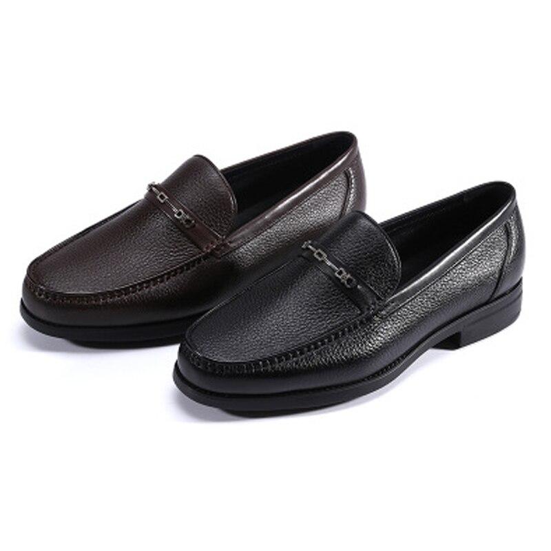 Jineyu-حذاء موكاسين من جلد الغزال للرجال ، أحذية ترفيهية ، مستوردة ، مجموعة جديدة