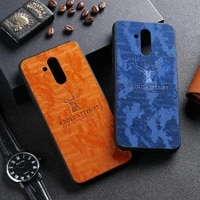 fabric cloth case for huawei mate 20 10 lite pro x case silicon bumper huawei p smart 2019 2018 z nova 5t 3 4 5 5i 2i cover