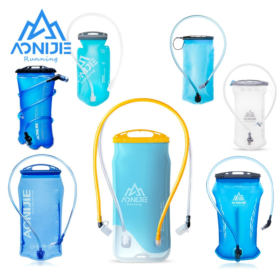 Aonijie SD51 SD16 Hydration Pack Water Reservoir Water Bladder Storage Bag BPA Free For Marathon Trail Running Hiking Climbing