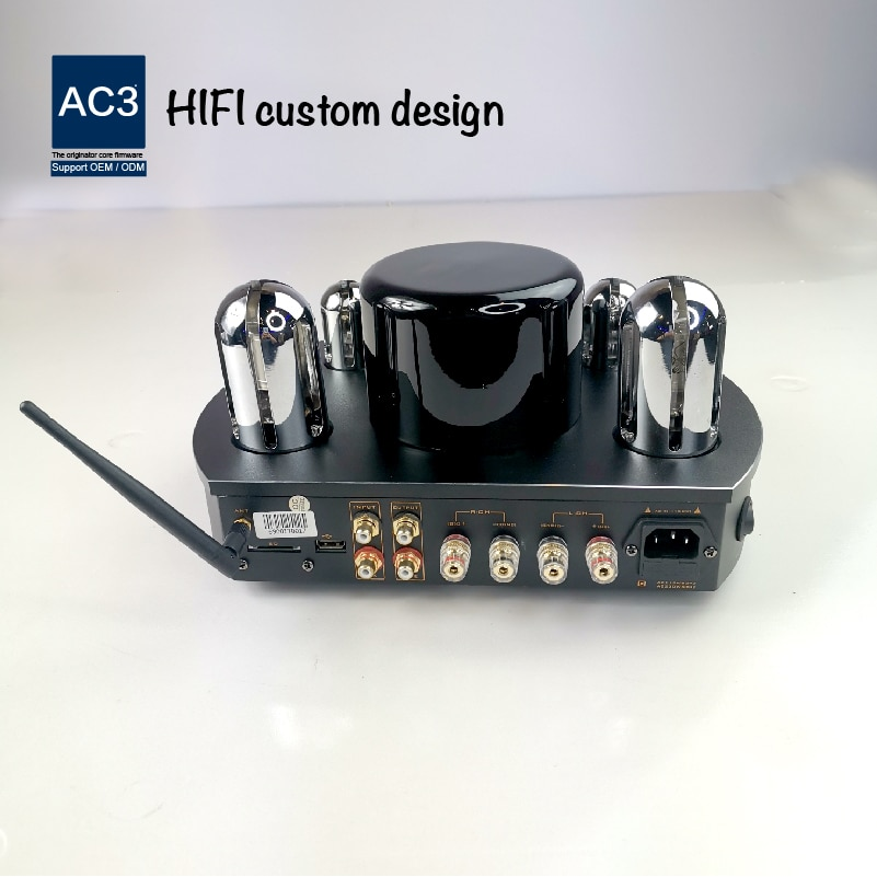 Product Home Use Bluetooth Speaker Mini Bluetooth Compact Desktop Tube Amplifier
