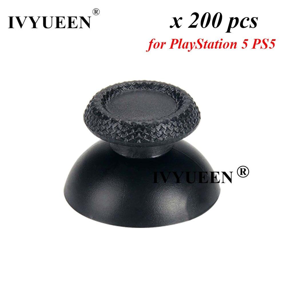 IVYUEEN 200 قطعة ل بلاي ستيشن 5 PS5 DualSense وحدة تحكم لاسلكية Thumbstick عصا التناظرية ثلاثية الأبعاد المقود الإبهام قبعات غطاء مقبض