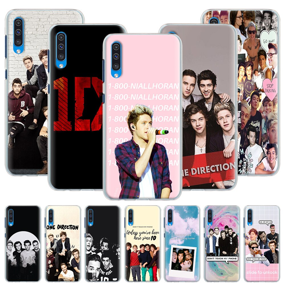 One Direction 1D чехол для samsung Galaxy A10 A10e A10S A20 A30S A40 A50 A50S A60 A70 A51 A71 жесткий чехол Capa