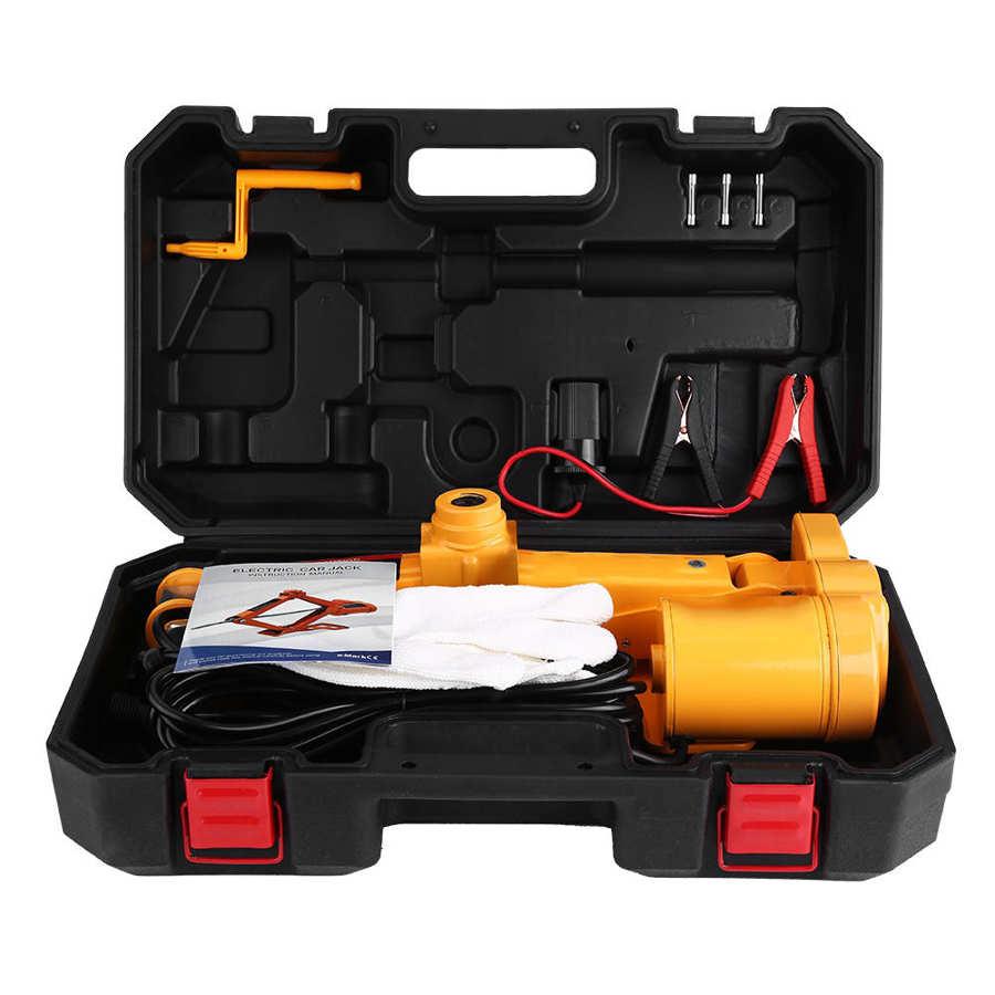 2 тонны/3 Тонны Электрический подъемный домкрат автомобильный автоматический домкрат ремонт гаража аварийное оборудование 12 В с коробкой