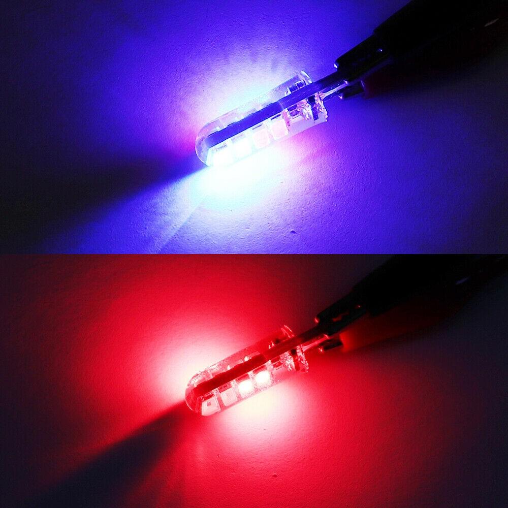 Автомобисветодиодный лампы, лампы, сменный боковой стробоскоп T10 5630 5730, сигнал поворота