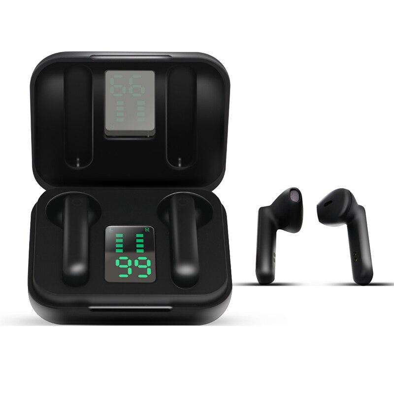TWS auriculares inalámbricos Bluetooth Estéreo deportivo, miniauriculares con pantalla LED para todos los smartphones Pk i9s i8x i10000 J3