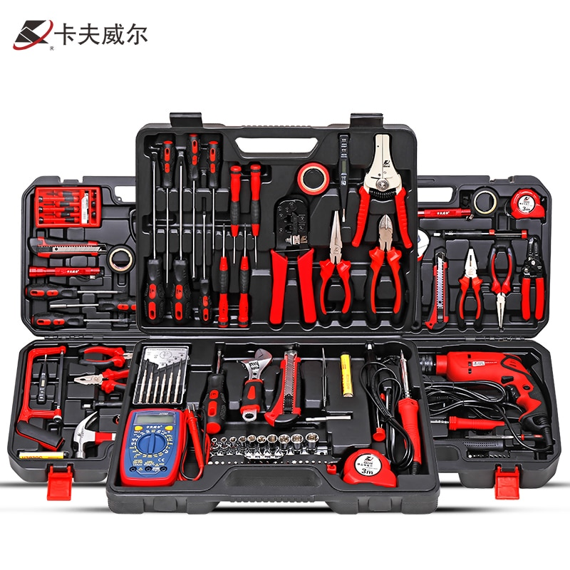 Home Set Tool Box Safety Combination Equipment Hard Protective Suitcase Tool Box Herramientas Taller Tools Packaging DB60TB