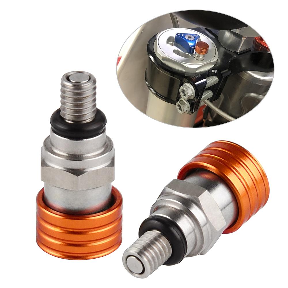M4x0.7 вилы воздуха выпускной клапаны для KTM 50 65 85 125 144 150 200 250 300 350 450 520 690 950 990 модели sx-EXC-XC MXC SMC Приключения WP