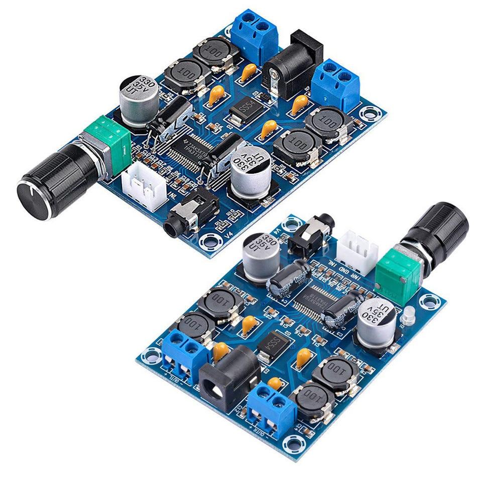 2 PCS TPA3118D2 Stereo Power Amplifier Module DC 12V 24V 28V Dual Channel 45W*2 Digital HD Edition Audio Power Amplifier Board new smsl sa 36a pro 20w 2 hifi tpa3118d2 digital audio power amplifier free shipping