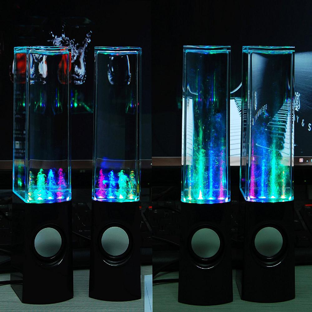 LED Dancing Water Fountain Show Music Light Computer Speakers For Laptop PC iPhone MP3 Phone Gadget Accessories enlarge