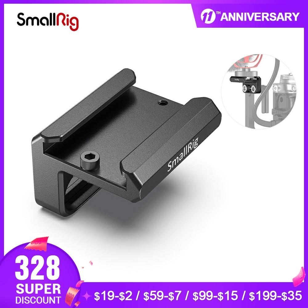 SmallRig Cold Shoe Mount DSLR Camera Clamp Compatible with SmallRig A7III A7RIII Z6 Z7 L Bracket L Plate for Microphone DIY 2736