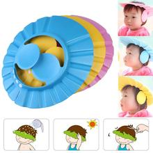 Safe Shampoo Shower Bathing Bath Protect Soft Cap Hat For Baby Wash Hair Shield Babes Children Bathi