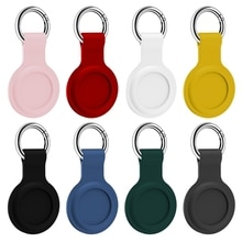 Protective Cover Location Tracker Silicone Case With Buckle for AirTags Tracker