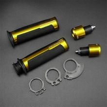 Motorcycle Grips 22mm Handlebar Motocross Accessories For suzuki gsx 750f suzuki burgman 400 bmw c600 sport honda sh 125i