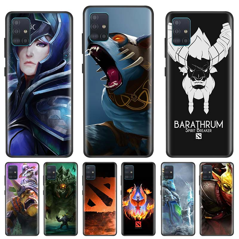Dota 2 Sven caso para Samsung Galaxy A51 A71 S20 Plus Ultra 5G A81 A91 A01 A21 Nota 10 S10 Lite de la cubierta del teléfono
