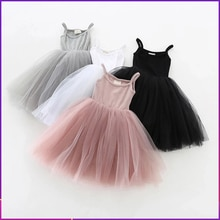 2021 New Baby Girl Dress Party And Wedding Summer 1st Birthday Dress For Baby Girl Clothes Casual Sm