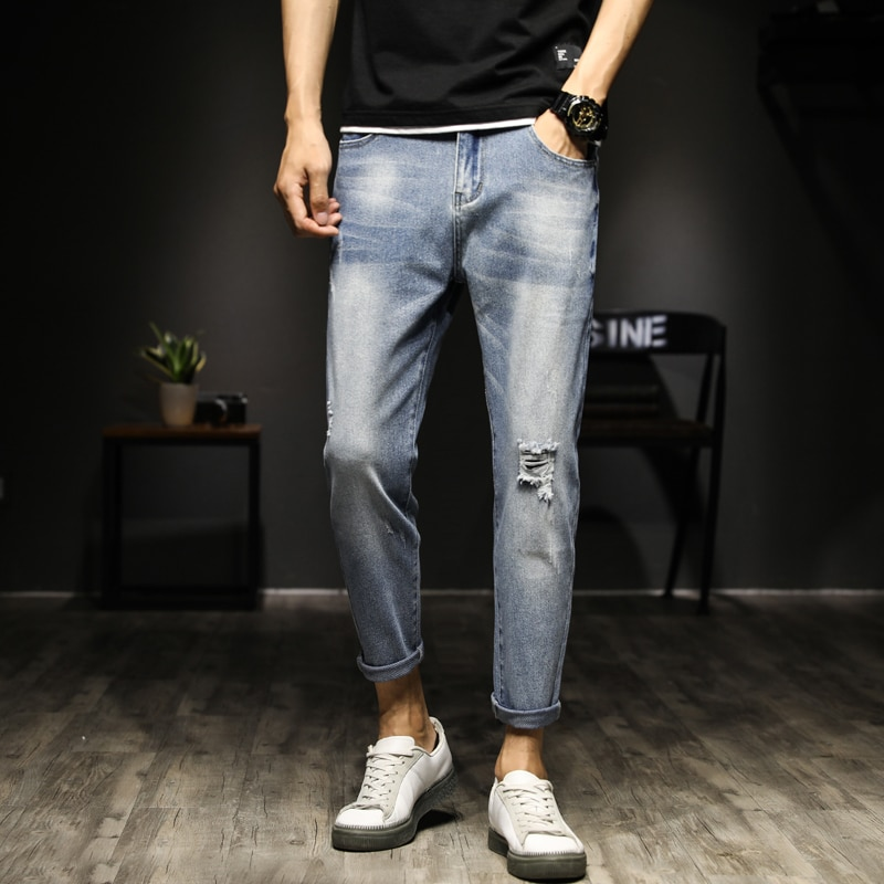 Мужские джинсы, мужские джинсы, Мужские штаны, корейские джинсы, брюки, джинсовые штаны, джинсы, брюки, мужские джинсы, брюки в Корейском стил...