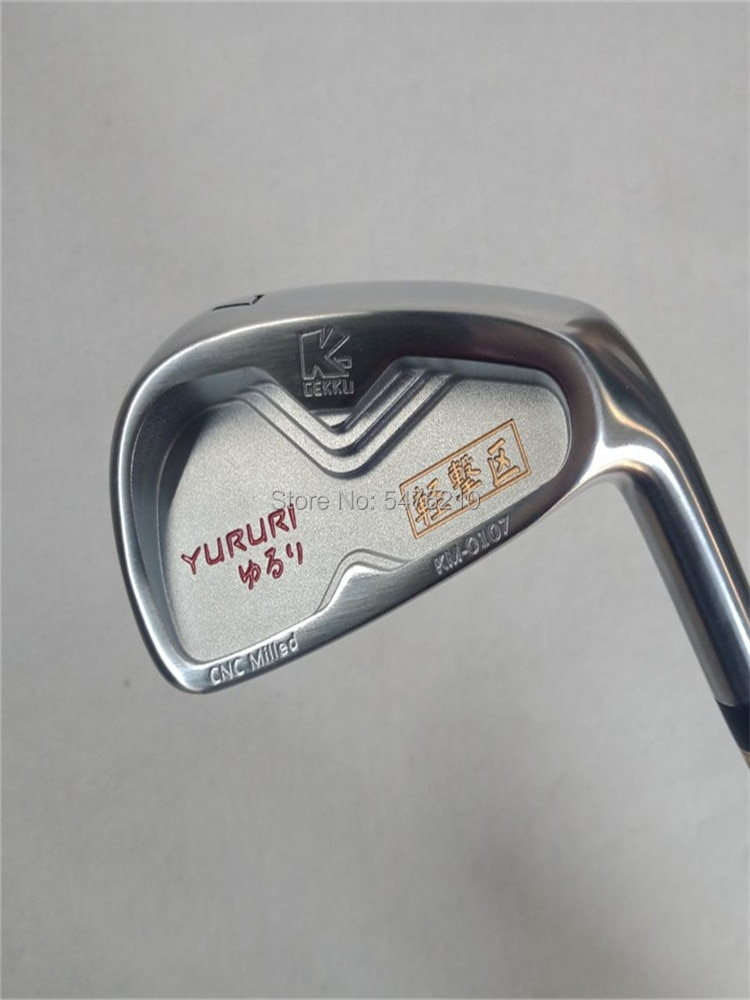 Nuevas planchas de Golf YURURI KM-0107 palos de Golf forjados NS PRO 950GH R acero eje planchas palos 3-9 Pw (8 uds) palos de Golf envío gratis
