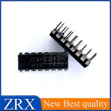 5Pcs/Lot Brand new original imported 74HC595 74HC595N SN74HC595N direct plug-in DIP16