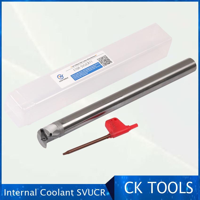 C10M C12Q C14Q C16 C20 c25t-svucr SVUBR08 VCGT08 VBGT cuchilla refrigerante indexable portaherramientas CNC corte de barra de torno interno