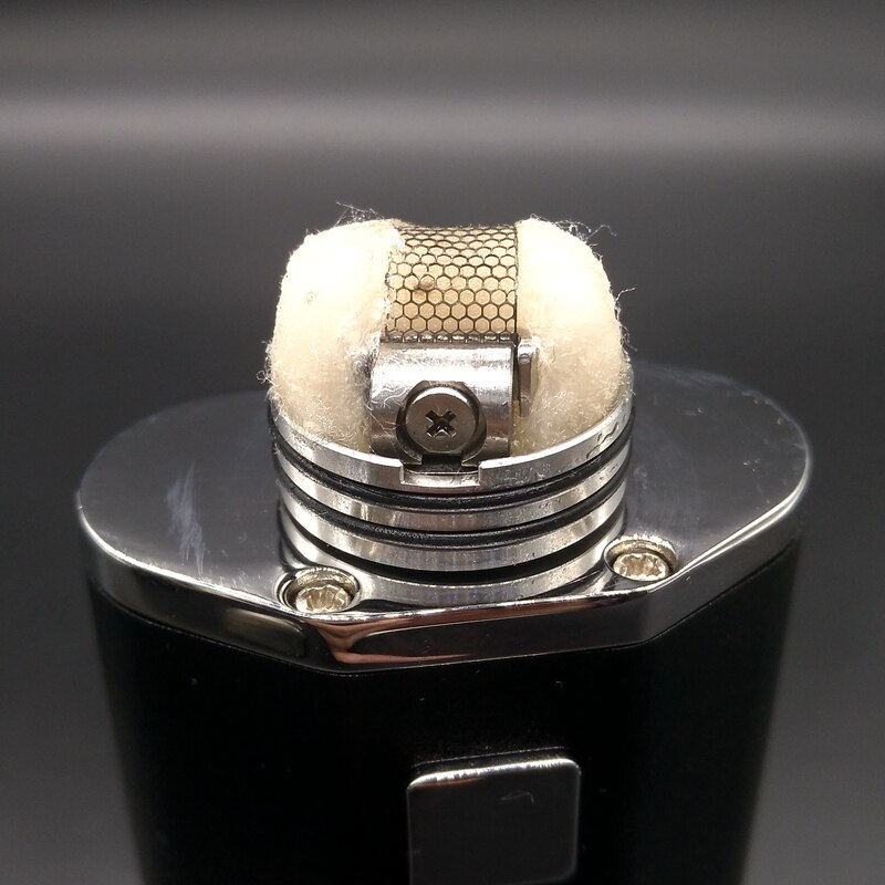Vape Profile RDA Atomizer RDA Rebuildable Dripping Atomizer Mesh Coil For Electronic Cigarette Vaporizer Box Mods Smoker enlarge