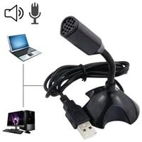 mini usb microphone for desktop computer laptop microphone flexible tube neck adjustable pc mic