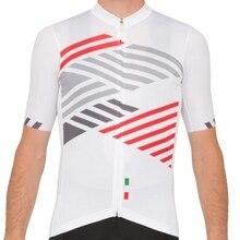 Pro fit manches longues blanc italia coupe laser italia cyclisme maillot séchage rapide été hommes vtt Ropa Ciclismo vélo maillot