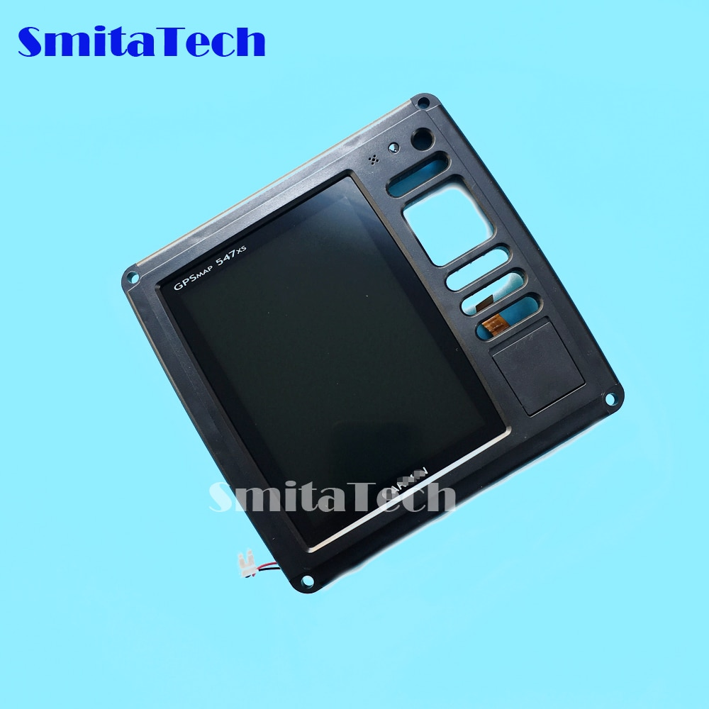 Para pantalla LCD Garmin gpsmapa 547XS con pantalla táctil y panel de Marco o lector de tarjetas TF chartplotter sirena fishfinder escaneo