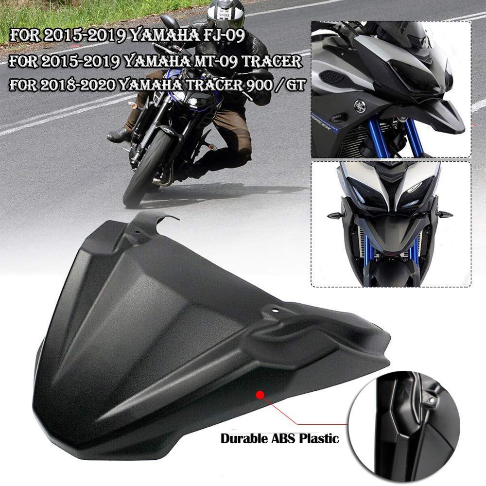 Guardabarros delantero para Yamaha MT09 Tracer 900 GT FJ 09, accesorios para motocicleta, cubierta de extensión 2015 2016 2017 2018 2019 2020