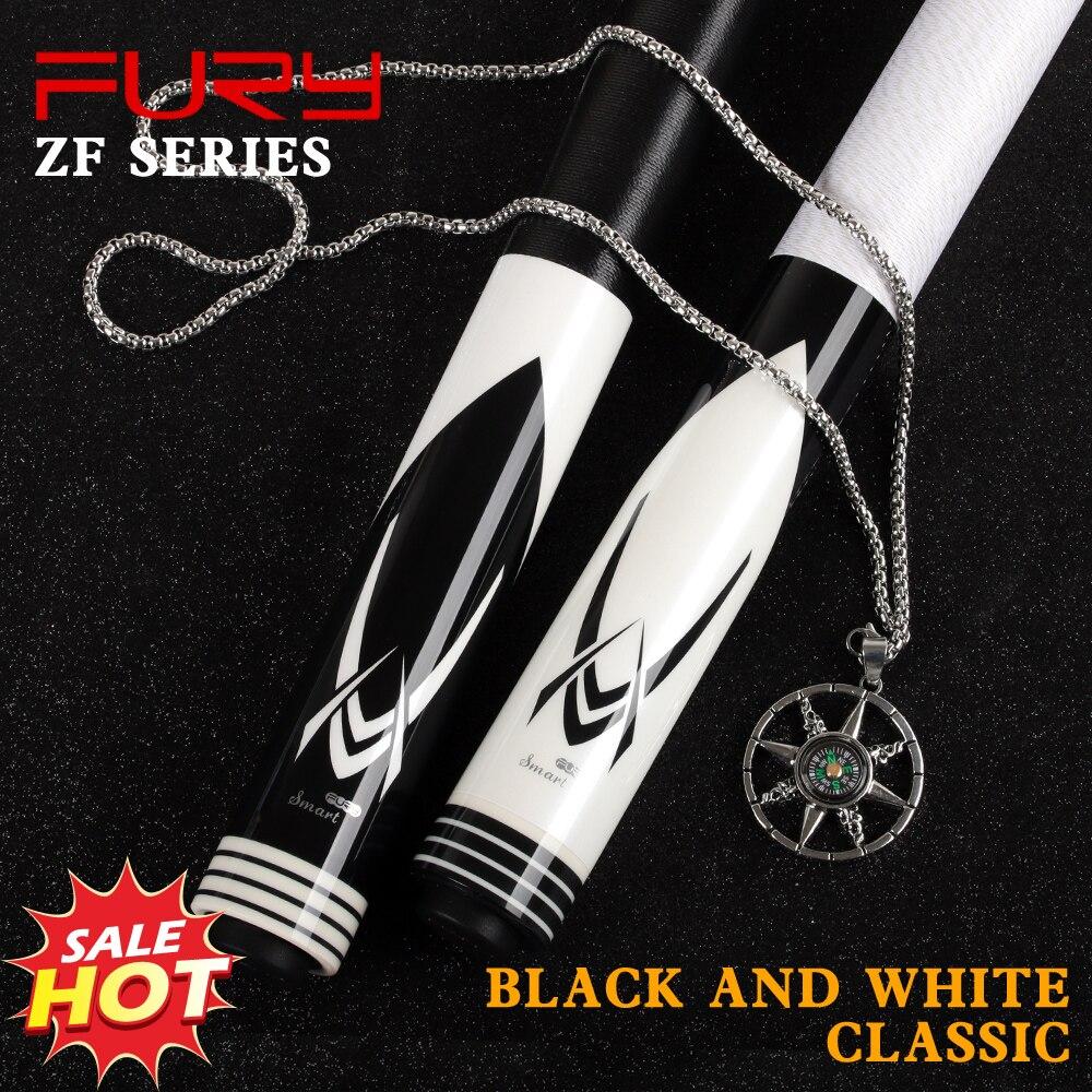 Original FURY ZF pool cue Billiard Stick 12.5mm Tip maple shaft Quick Joint Billiards Cue Kit Nine Ball Black 8 Professional