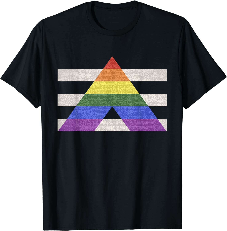 LGBT & Gay-camisetas de la bandera del orgullo, LGBT