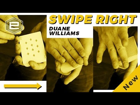 Swipe Right by Duane Williams,Magic Tricks