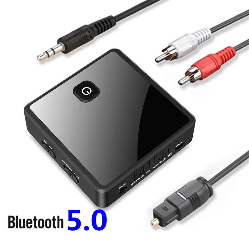 bluetooth-5-0-transmitter-receiver-wireless-adapter-low-latency-3-5mm-aux-jack-optical-spdif-audio-adapter-for-pc-tv-car-speaker
