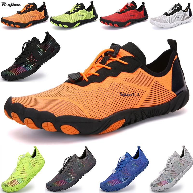 Men and women beach summer outdoor wading shoes couple swimming diving shoes surfing breathable quick-drying water sports shoes
