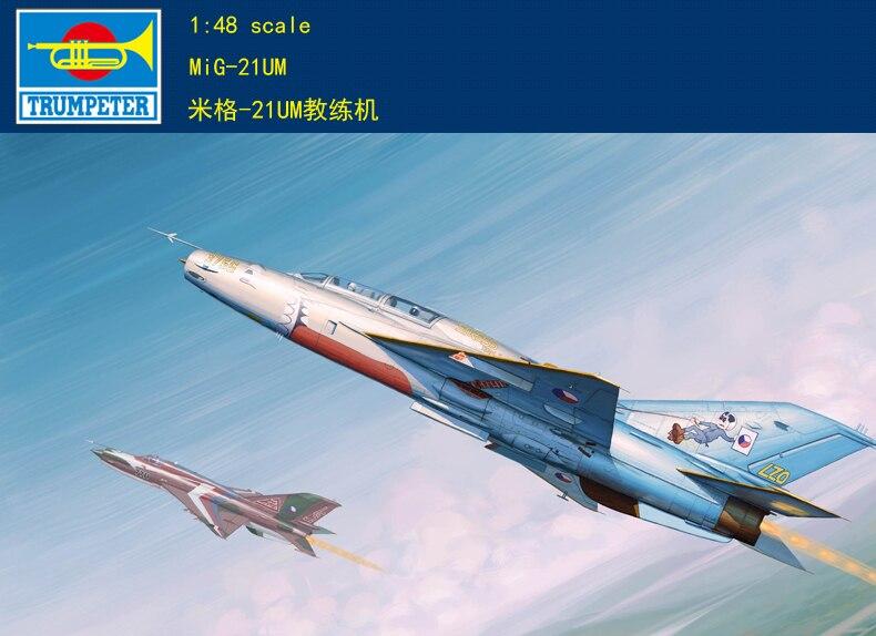 Maqueta Trumpeter 02865 1/48 MiG-21UM