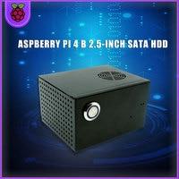 Raspberry Pi 4 Model B 2.5 inch SATA HDD/SSD Storage Expansion Board X825 USB3.1 Mobile Hard Disk Module for Raspberry Pi 4B