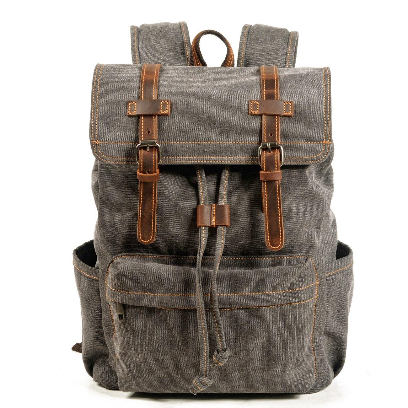VZVA الرجعية في الهواء الطلق على ظهره الذكور السفر حقيبة مدرسية السفر حقيبة ظهر للكمبيوتر طالب كلية المدرسة الثانوية طالب صغار عالية scho
