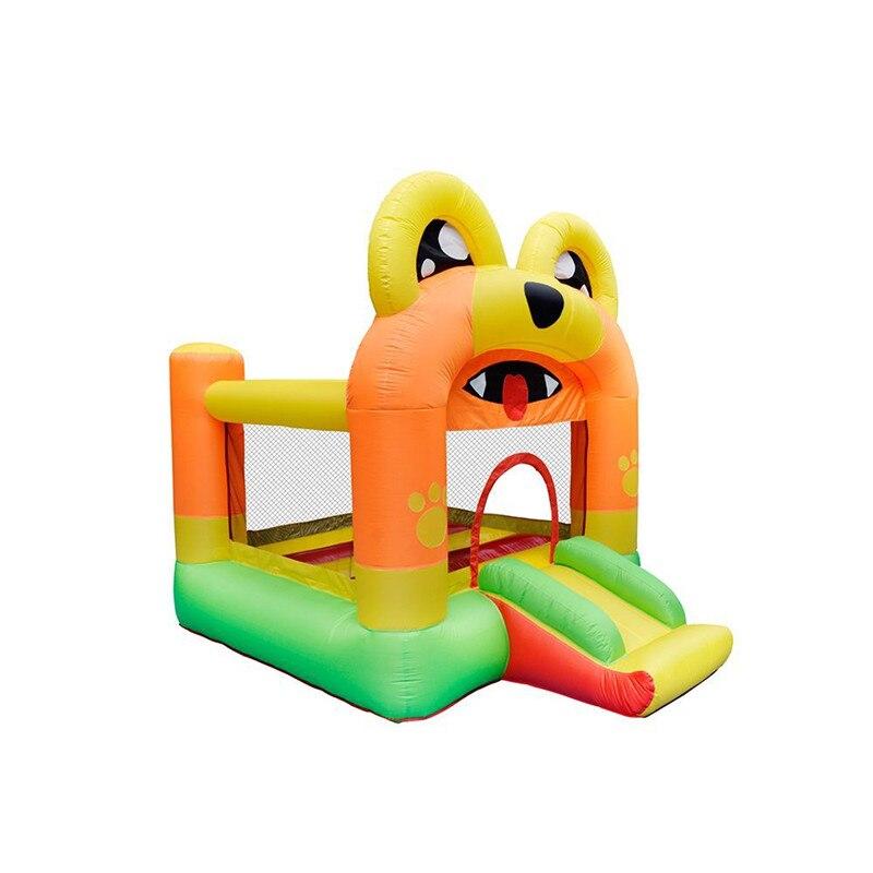 Castillo inflable de dibujos animados para niños, parque Infantil al aire libre,...